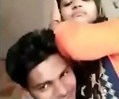 Indian school generalized outdoor kissing