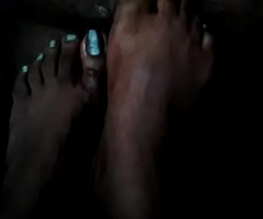 Foot job indian