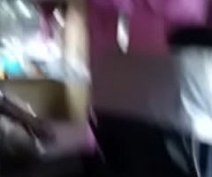 Sleeper bus girl getting down irritant