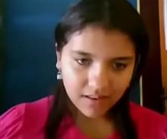 desi cute legal age teenager showing on webcam
