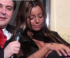 Mistress Godiva ballbusts a slave be proper of Andrea Dipr&egrave_