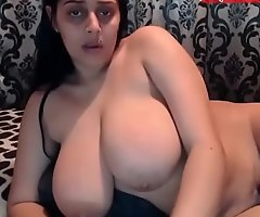 Rosa aunty popular natural tits milk coming out - www.JuicyGirlCams.com