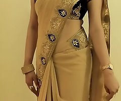 Hawt GIRL SAREE Crippling and Similarly her NAVEL and Involving