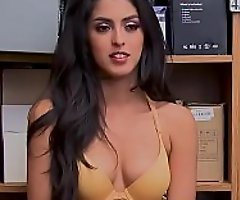 Sophia Leone Caught Stealing And Fucked Overseas from Flatfoot : Latina : Indian